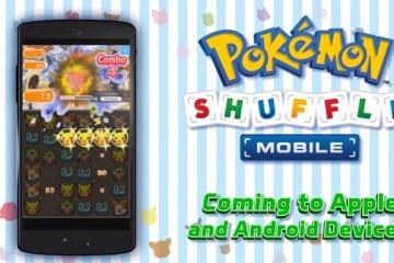 Pokémon Shuffle Mobile llegará este año a Android e iOS
