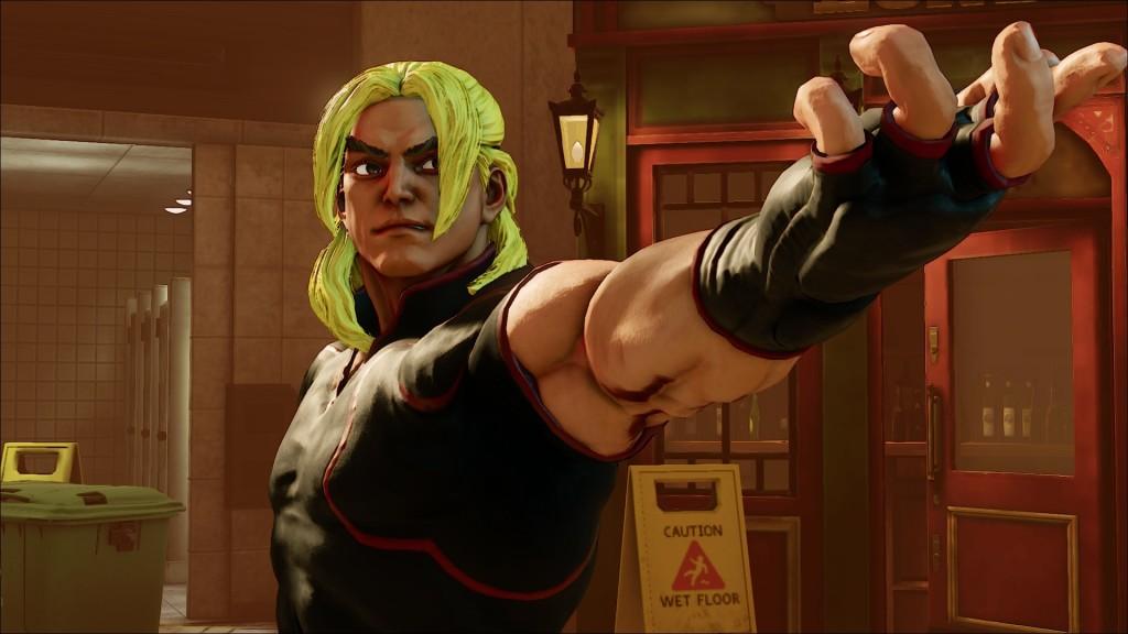 Llega Ken a Street Fighter V