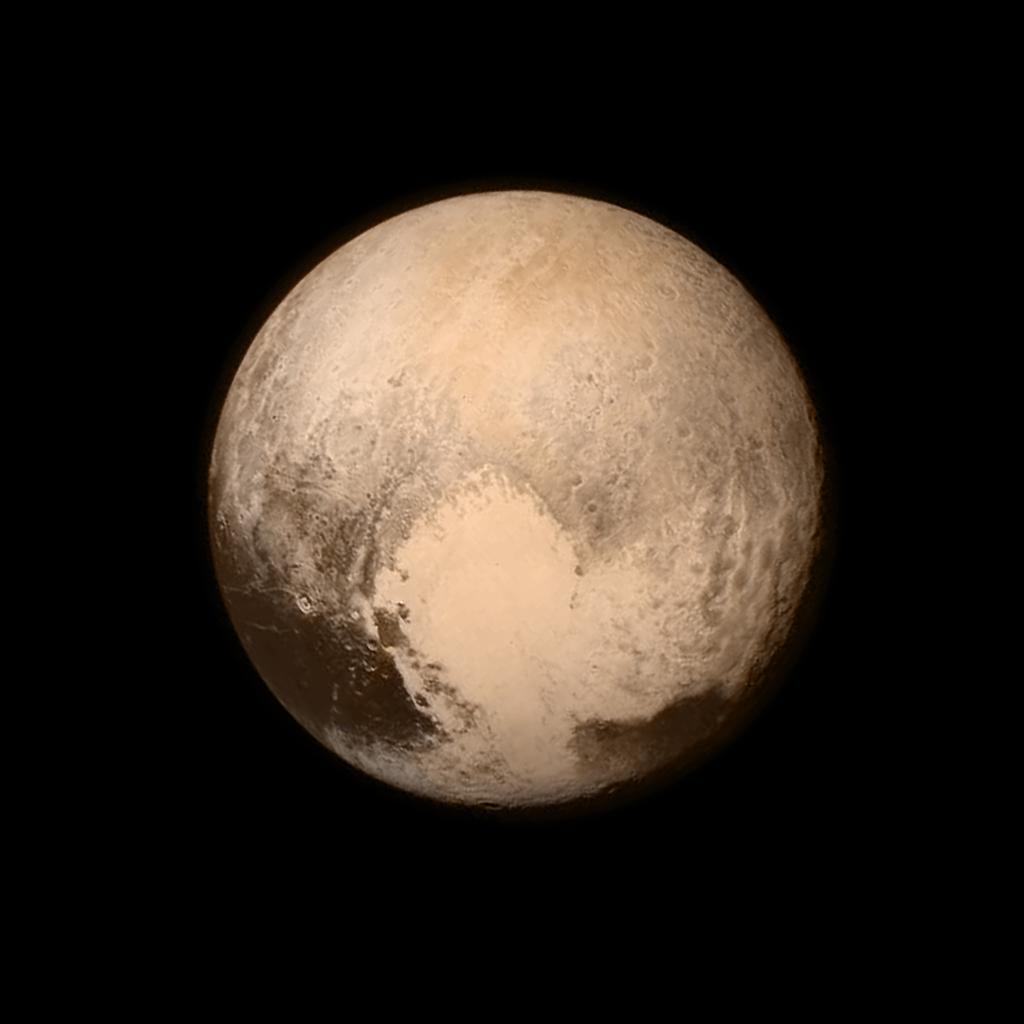 La sonda New Horizons envía la primera imagen detallada de Plutón