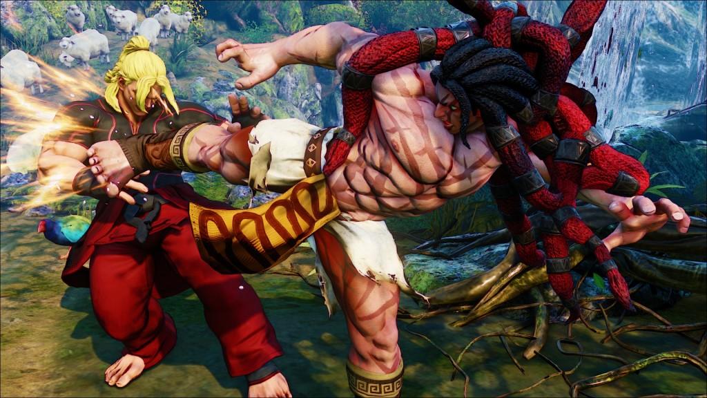 Street Fighter V: Necalli - Kick