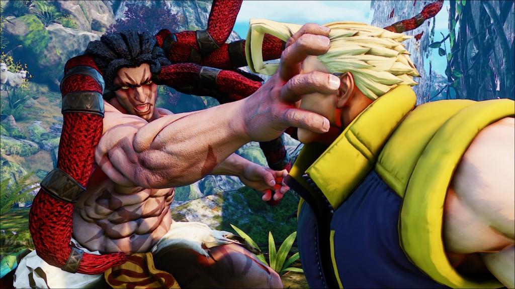 Street Fighter V: Necalli - Grab