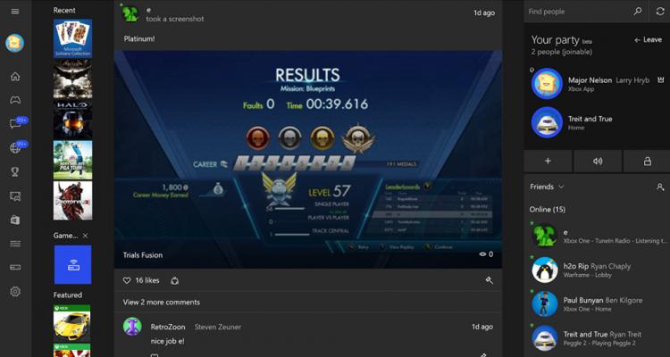 Microsoft permite a todos transmitir los juegos del Xbox One a Windows 10