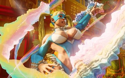R. Mika returns in Street Fighter V