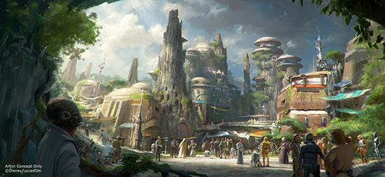 El mundo de Star Wars llegará a WDW y Disneyland
