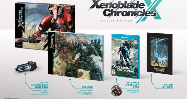 Xenoblade Chronicles X Special Edition llegará el 4 de diciembre al Wii U