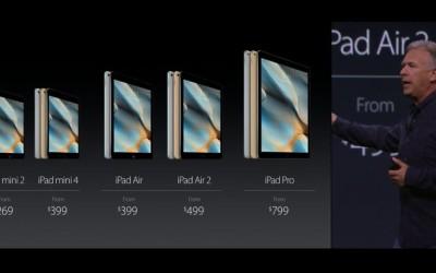 Apple introduces iPhone 6S, iPhone 6S Plus, Apple TV, iPad Pro, iOS 9
