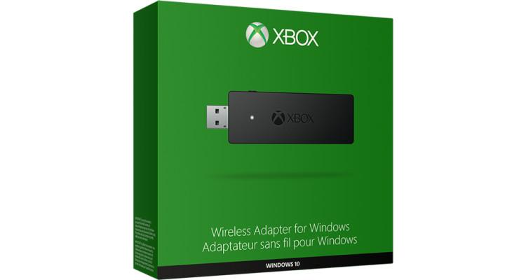 Llega un adaptador de control inalámbrico Xbox One para Windows 10 la próxima semana