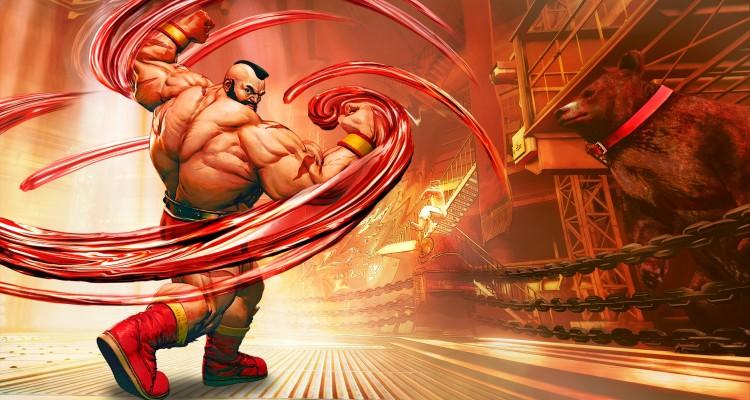 Zangief returns in Street Fighter V