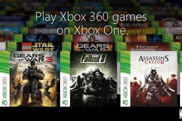 Los primeros 104 del Xbox 360 que jugarás en el Xbox One