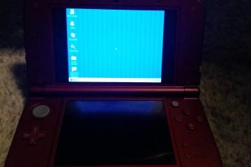 User runs Windows 95 on a New Nintendo 3DS