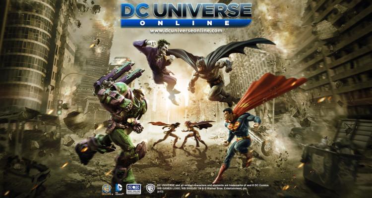 DC Universe Online va a llegar al Xbox One