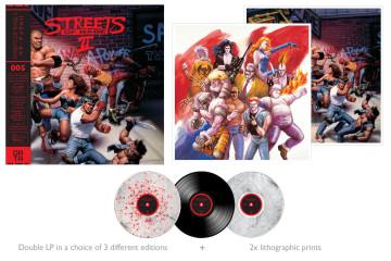 La compañía discográfica Data Discs lanzará la banda sonora de Streets of Rage 2 en vinilo