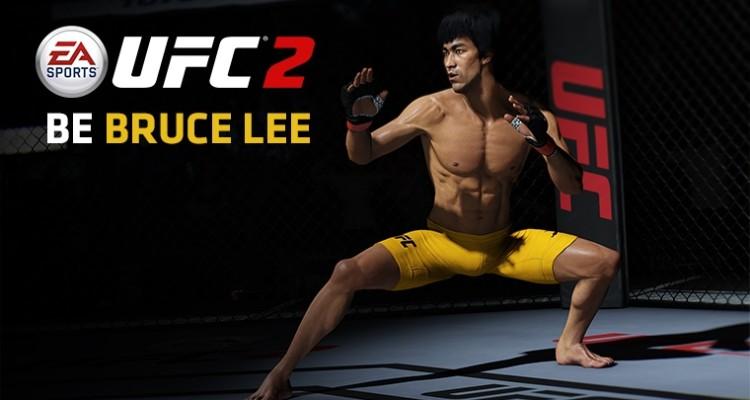 Bruce Lee vuelve al Octágono en EA Sports UFC 2