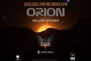 William Shatner will bring his voice to space simulation game Elite: Dangerous