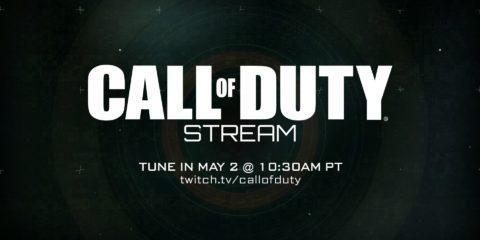 Mark your calendar for a Call of Duty stream tomorrow