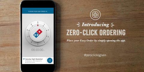 Domino's Zero-Click App