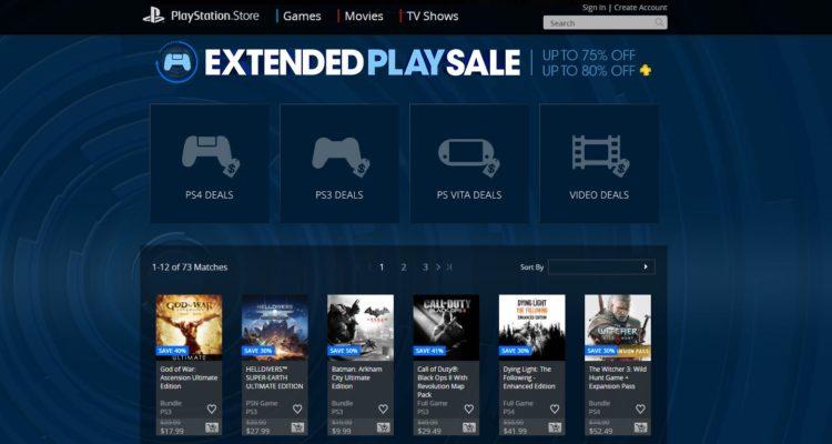 Los descuentos de juegos continúan en la PlayStation Store