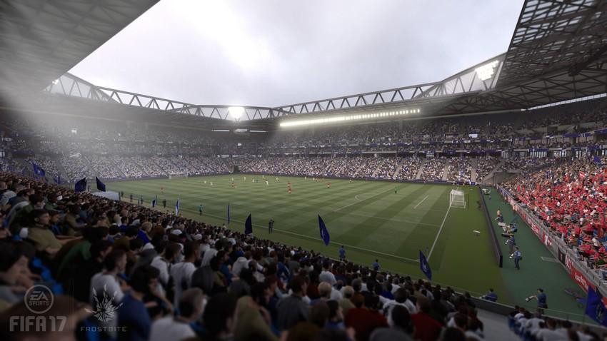 FIFA 17: El estadio Ciudad de Suita