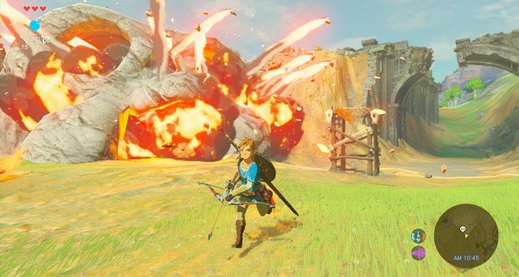 Monolith Soft está cooperando con Nintendo en The Legend of Zelda: Breath of the Wild