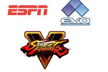 ESPN2 transmitirá el Campeonato Mundial de Street Fighter V en EVO el 17 de julio