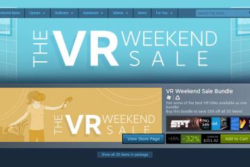 Valve lanza su primera oferta de fin de semana de VR de Steam