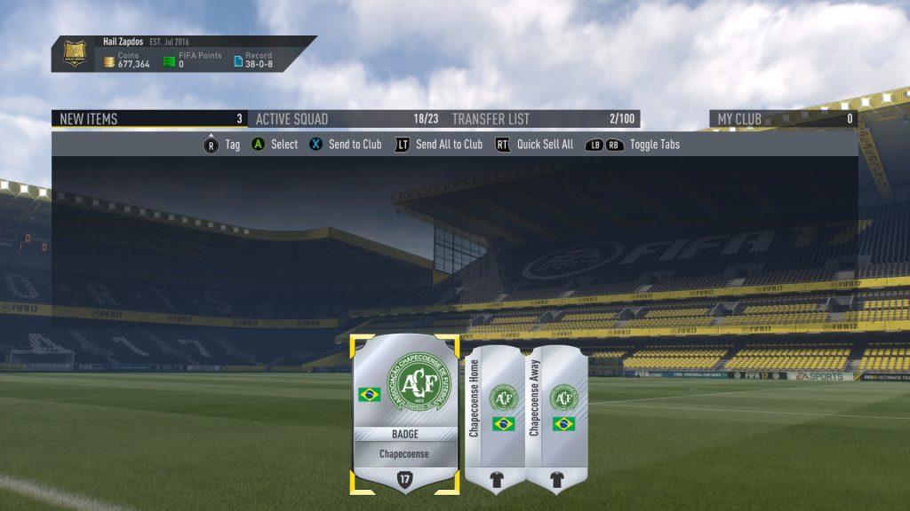 FIFA 17 - Chapecoense