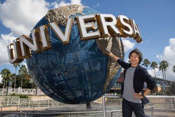 Shigeru Miyamoto @ Universal Studios