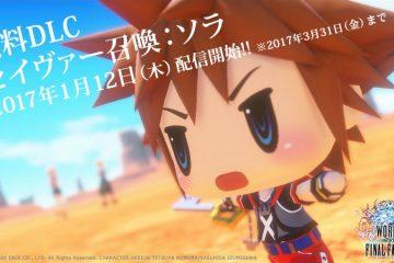 Sora llegará a World of Final Fantasy como DLC en Japón el 12 de enero