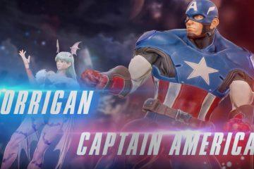 El Capitán America y Morrigan se unen a la batalla en Marvel vs. Capcom Infinite