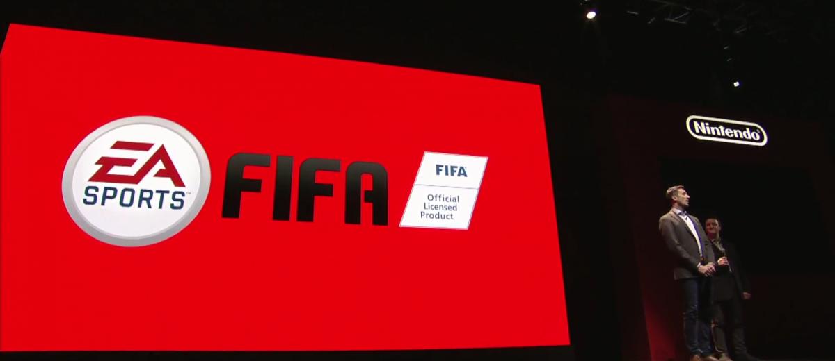 El juego FIFA de EA para Nintendo Switch se llamará FIFA 18