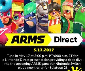 Nintendo Direct de Arms