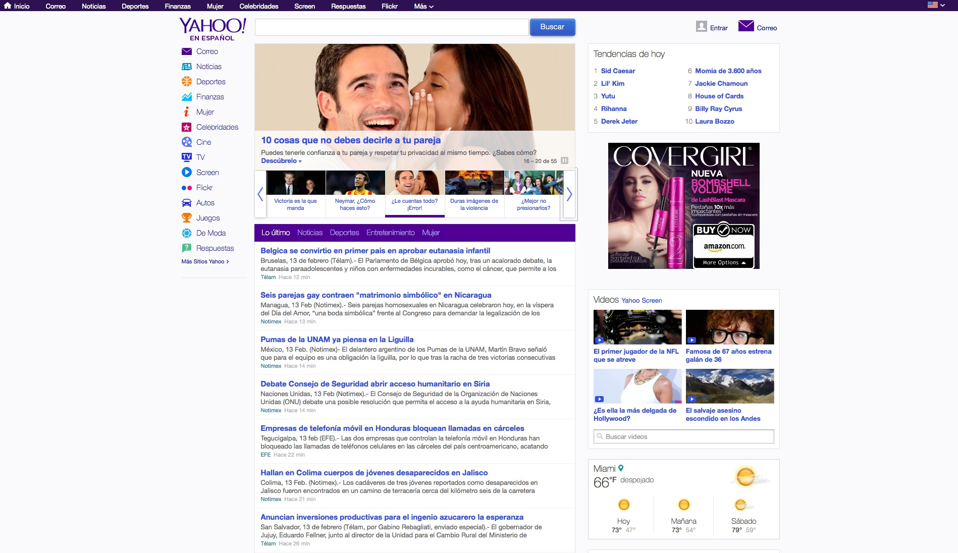 Yahoo! en Español: The new and improved Yahoo in Spanish